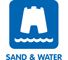 Sand And Water Symbol