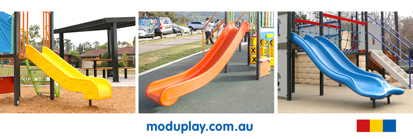 Rotomoulded Plastic Slides For Playgrounds