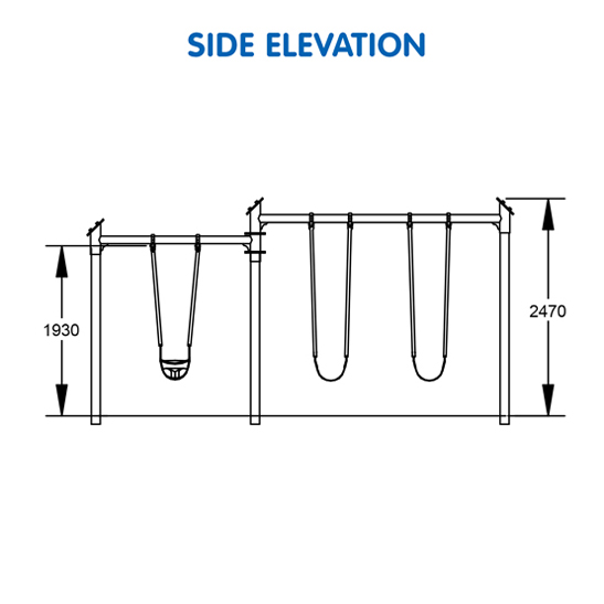 Compact Triple Swing S-8789 - 07