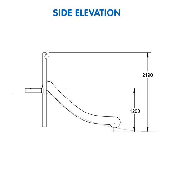 Bushwood Mound Slide – Single 1200H J-2244