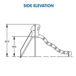 Turbo Rotomoulded Slide 1800H