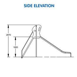 Stainless Steel Slide 1800H