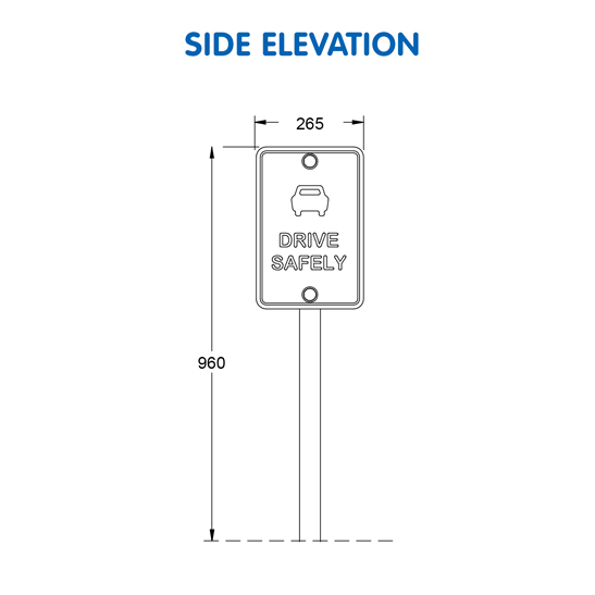 Safe Driving Sign G-9911 - 05