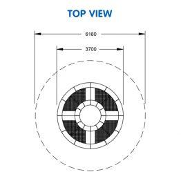 Trampoline Circle 90