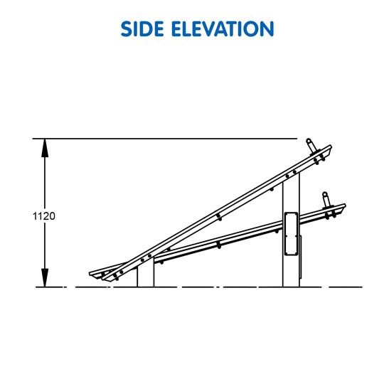 Sit-Up Leg Raise Station – UrbanFiT Trekko UFT- 3603