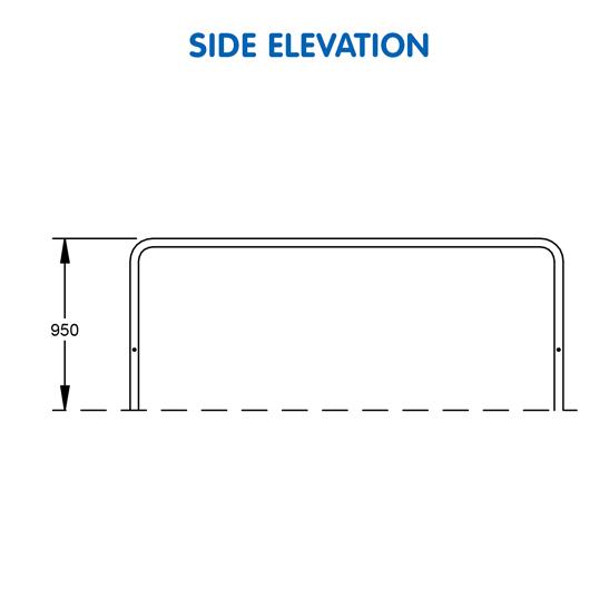 Triple Parallel Bars - UrbanFiT Trekko