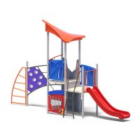 Climb play tower from Modupay's range of playground systems