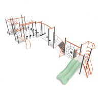 Large rope balance play system from Moduplay's range of playground systems