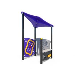 Play house from Moduplay's range of playground systems