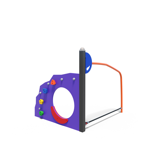 Toddler's tactile play unit from Moduplay's range of playground systems