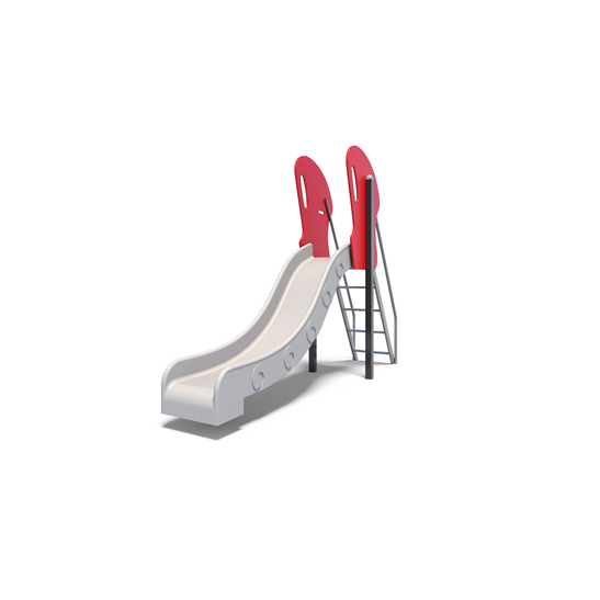 The slide with grip area, one of the playground slides from Moduplay