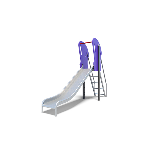 The junior slide from the steel playground slides range by Moduplay