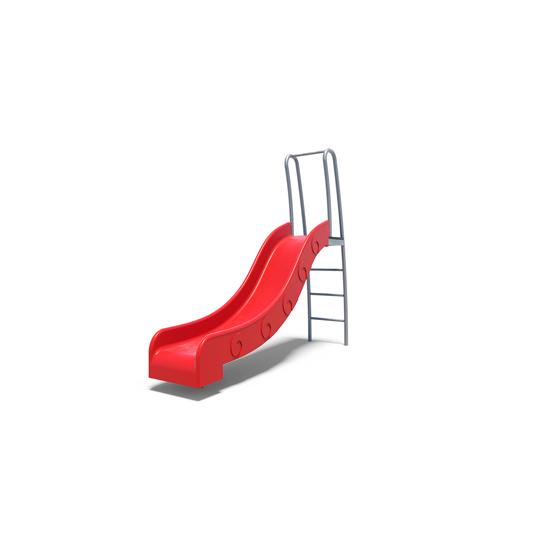 The junior plastic slide from Moduplay's playground slides range
