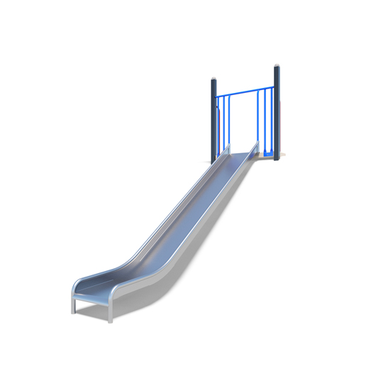The metal embankment slide from Moduplay's playground slides range
