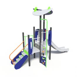 Multi level play tower, A play system from Moduplay.