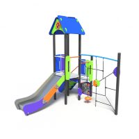 Single tower with rope climb, a play system from Modplay