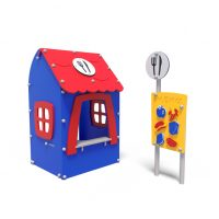 Pretend restaurant from Moduplay's range of themed playground equipment