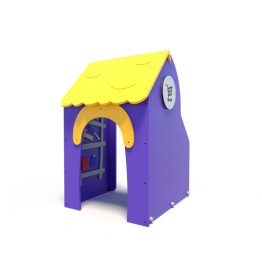 Pretend town shop from Moduplay's range of themed playground equipment