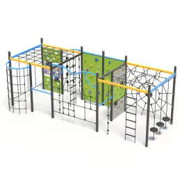 A three climbing cube play system from Moduplay
