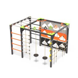 The active play hive playground equipment, a climbing cube from Moduplay
