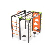 An active play hive with ladders, a playground climbing cube from Moduplay