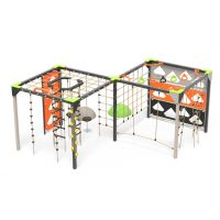 Double active play hives, playground climbing cubes from Moduplay