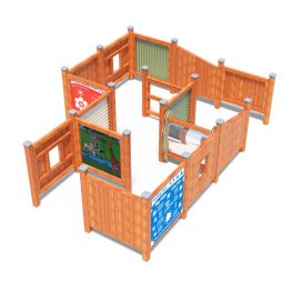 Playground large maze with mirror from Moduplay's range of sensory play equipment