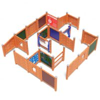 Large playground maze from Moduplay's range of sensory play equipment