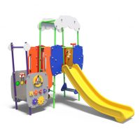 Toddler's play system with slide from Moduplay's range of play systems