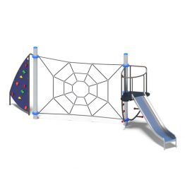 Net web and slide from Moduplay's range of playground equipment