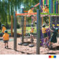 How play equipment in schools benefits the children