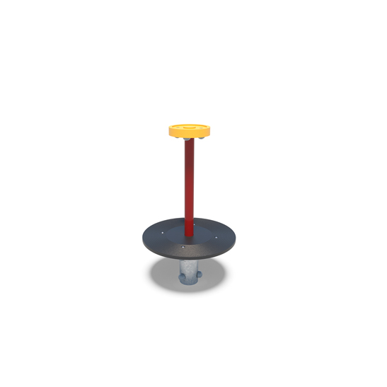 Mini spinning disk from Moduplay's range of playground equipment.