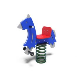 Horse rocker from Moduplay's range of playground spring rockers