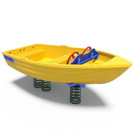 Large boat rocker from Moduplay's range of playground spring rockers