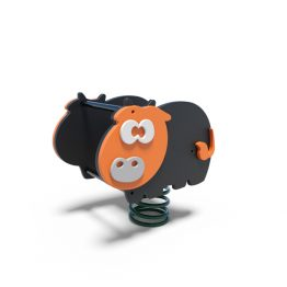 Cow rocker from Mosuplay's range of playground spring rockers