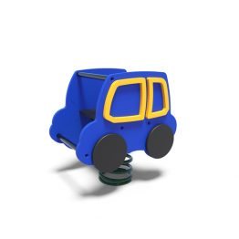 Car rocker from Moduplay's range of playground spring rockers
