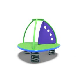 Sailboat rocker from Moduplay's range of playground spring rockers