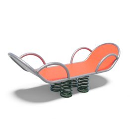Bed rocker from Moduplay's range of playground spring rockers