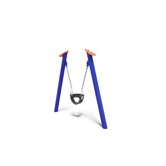 Mini bucket swing from Moduplay's range of playground swings