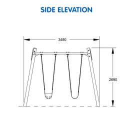 Premium Timber Panel Double Swing