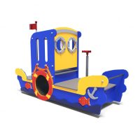Play boat from Moduplay's range of themed playground equipment.