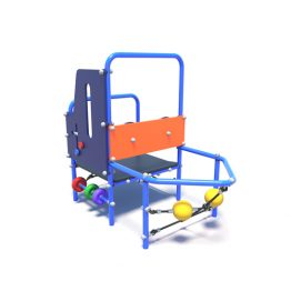 Toddler's play ship from Moduplay's range of playground equipment.