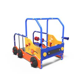 The toddler's play truck from Moduplay's range of playground equipment.