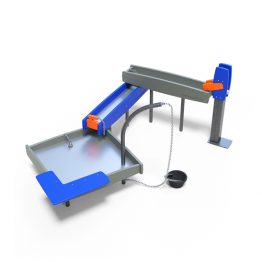 The water work station from Moduplay's sand and water play equipment range
