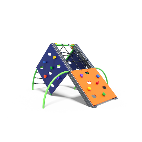 Compact climbing hive, a climbing play system from Moduplay